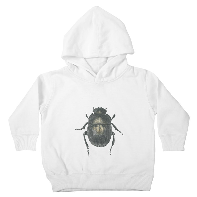 Death Scarab Kids Toddler Pullover Hoody by Stephanie Inagaki
