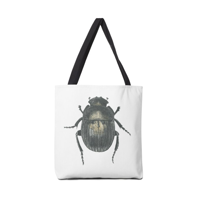 Death Scarab Accessories Tote Bag Bag by Stephanie Inagaki