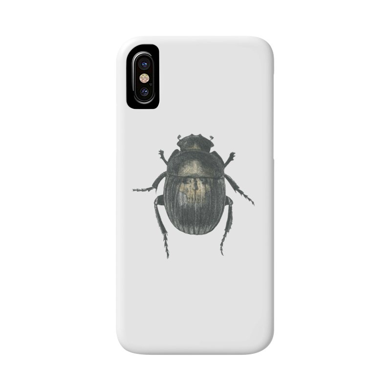 Death Scarab Accessories Phone Case by Stephanie Inagaki