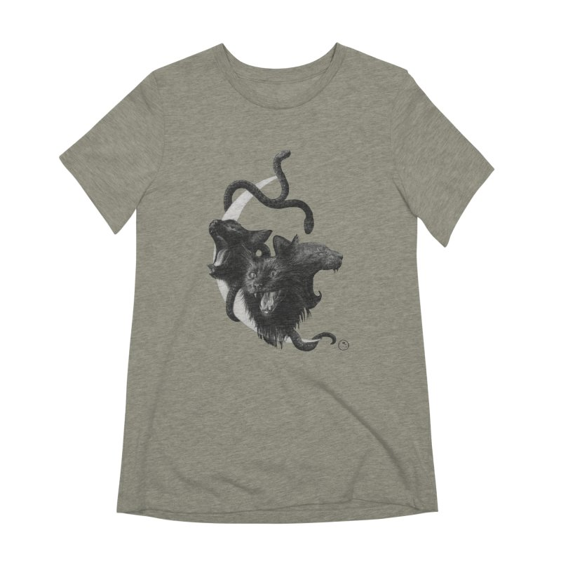 Harpies Women's Extra Soft T-Shirt by Stephanie Inagaki