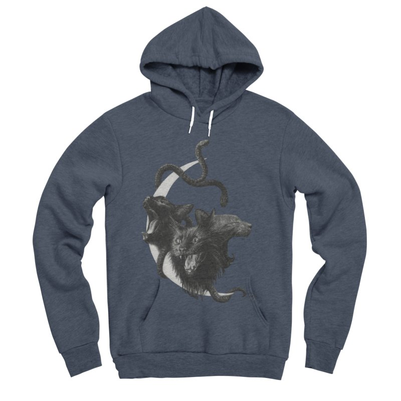 Harpies Women's Sponge Fleece Pullover Hoody by Stephanie Inagaki