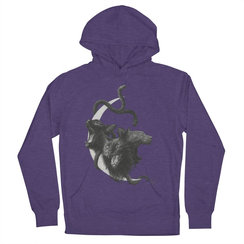 Harpies Women's French Terry Pullover Hoody by stephanieinagaki's Artist Shop
