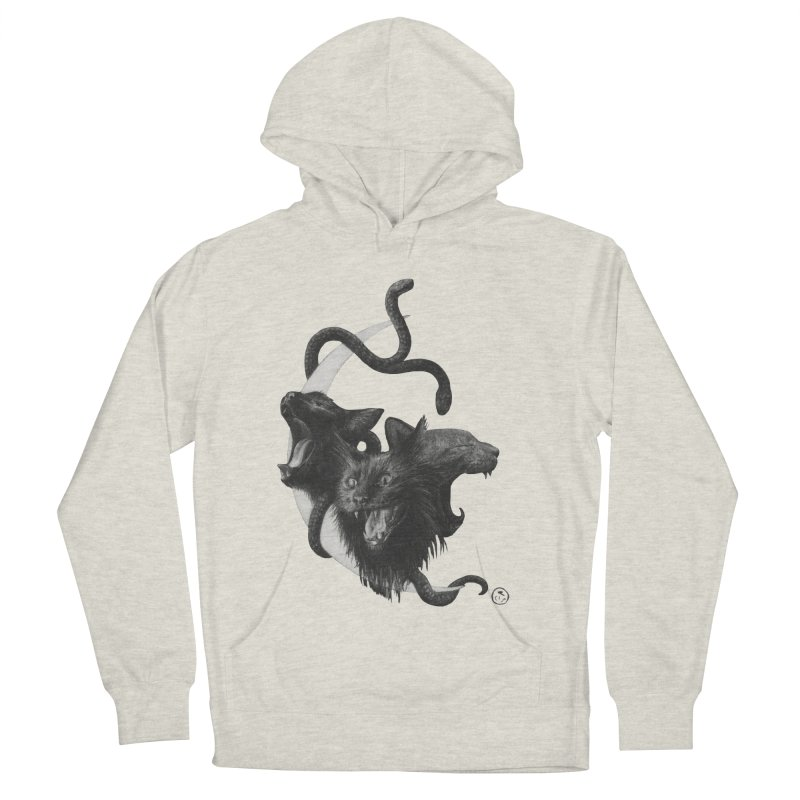 Harpies Women's French Terry Pullover Hoody by Stephanie Inagaki