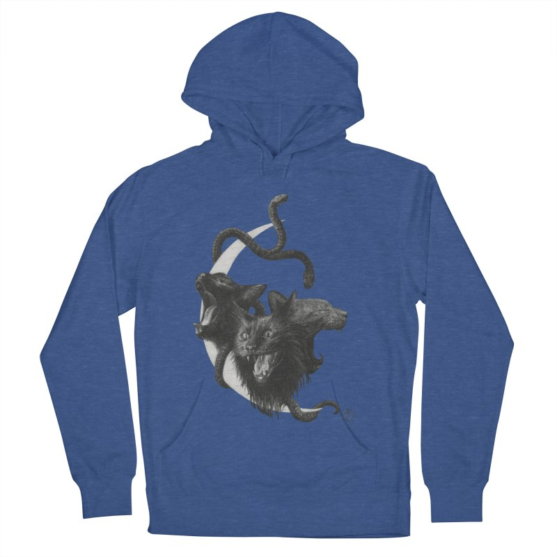 Harpies Men's French Terry Pullover Hoody by Stephanie Inagaki