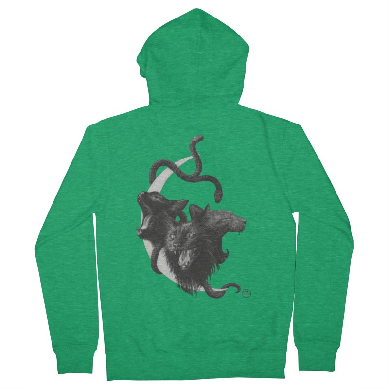 Harpies Men's French Terry Zip-Up Hoody by stephanieinagaki's Artist Shop