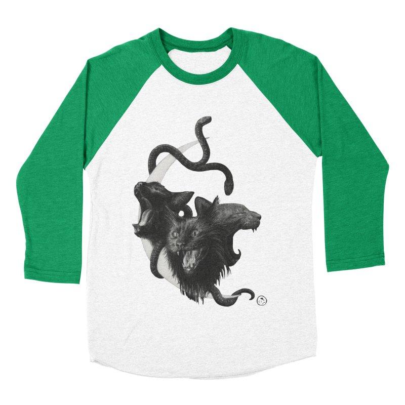 Harpies Women's Baseball Triblend Longsleeve T-Shirt by stephanieinagaki's Artist Shop