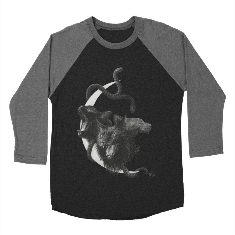 Harpies Men's Baseball Triblend Longsleeve T-Shirt by stephanieinagaki's Artist Shop