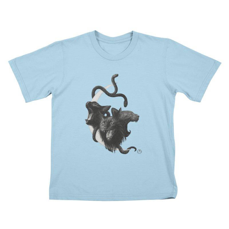 Harpies Kids T-Shirt by Stephanie Inagaki