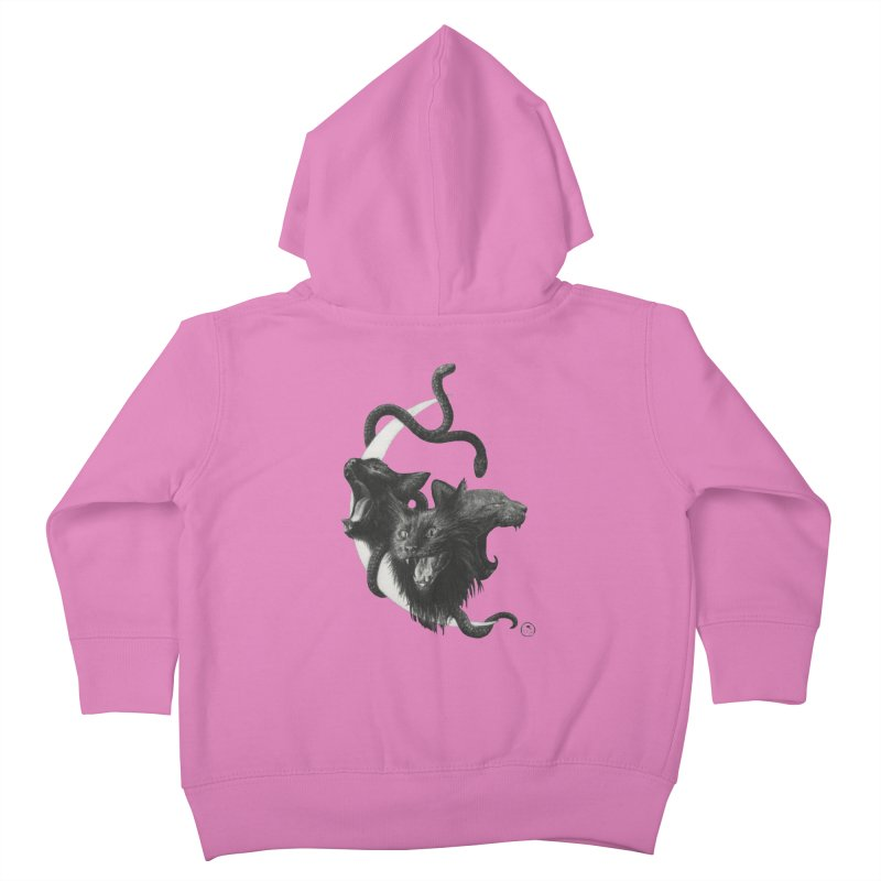 Harpies Kids Toddler Zip-Up Hoody by Stephanie Inagaki