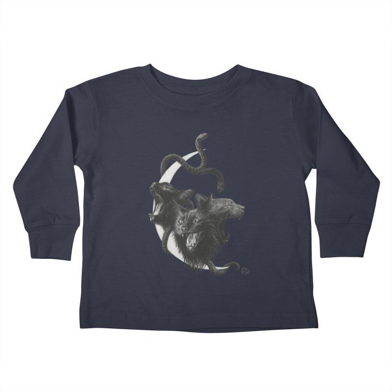 Harpies Kids Toddler Longsleeve T-Shirt by Stephanie Inagaki