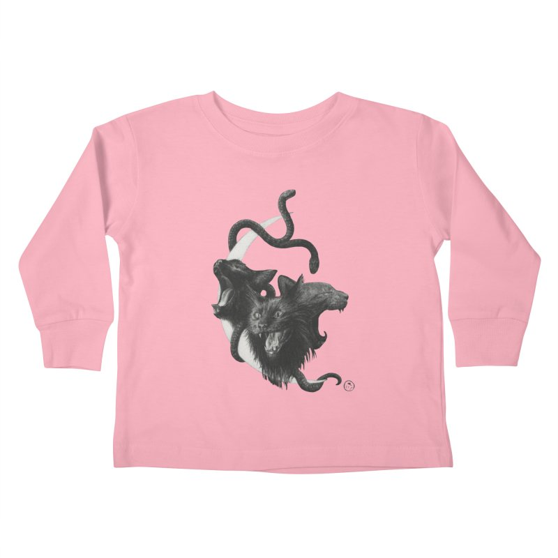 Harpies Kids Toddler Longsleeve T-Shirt by Stephanie Inagaki