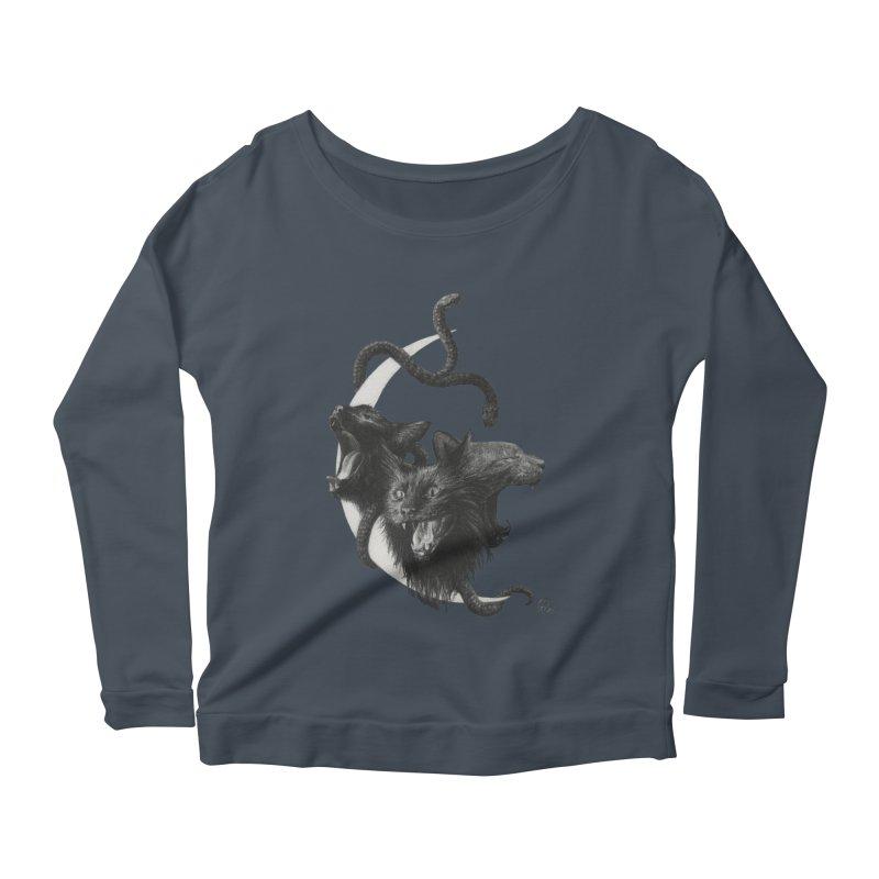Harpies Women's Scoop Neck Longsleeve T-Shirt by Stephanie Inagaki