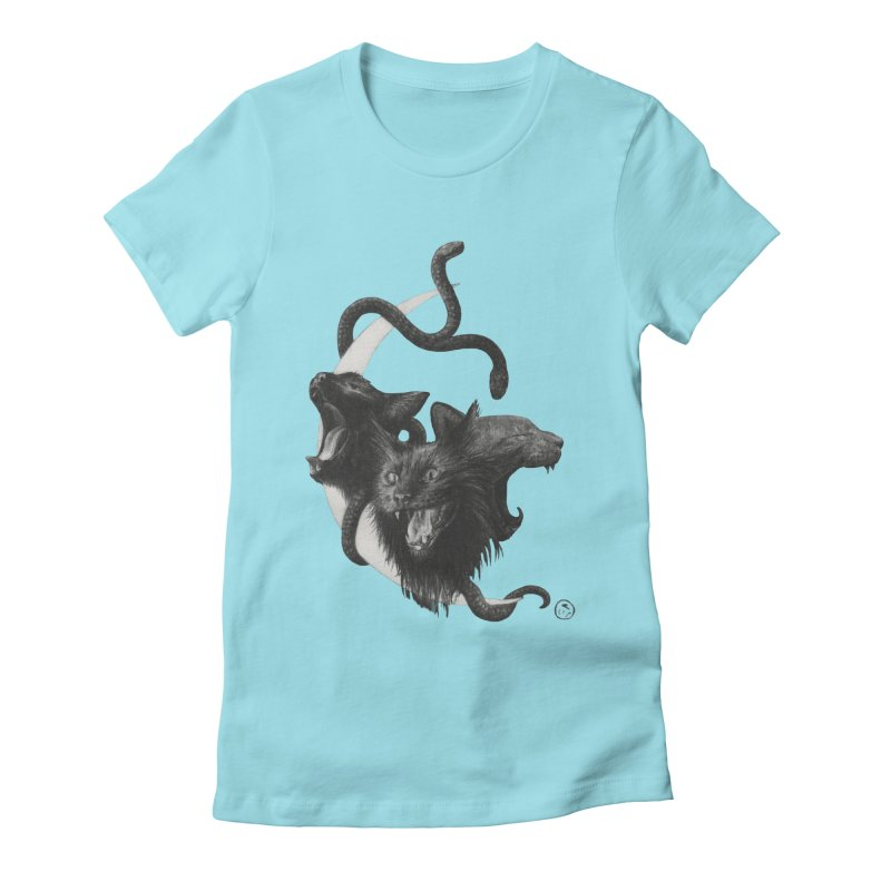 Harpies Women's Fitted T-Shirt by Stephanie Inagaki