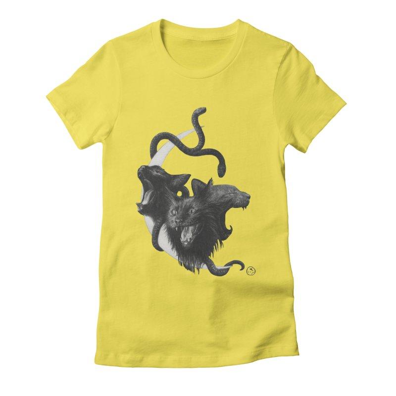 Harpies Women's Fitted T-Shirt by stephanieinagaki's Artist Shop