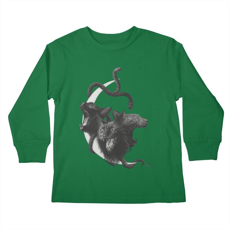 Harpies Kids Longsleeve T-Shirt by Stephanie Inagaki