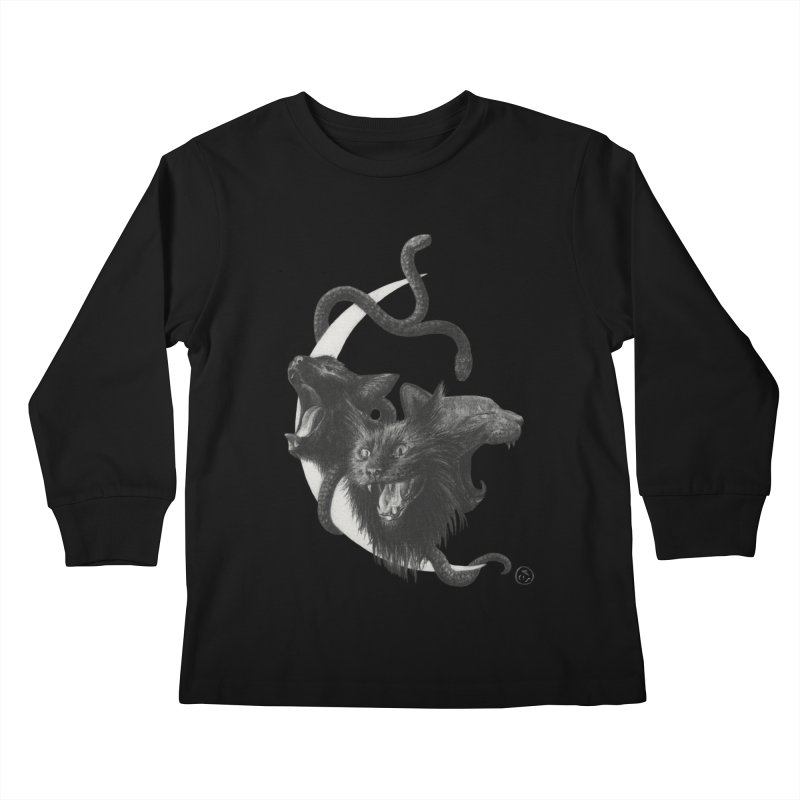 Harpies Kids Longsleeve T-Shirt by Stephanie Inagaki