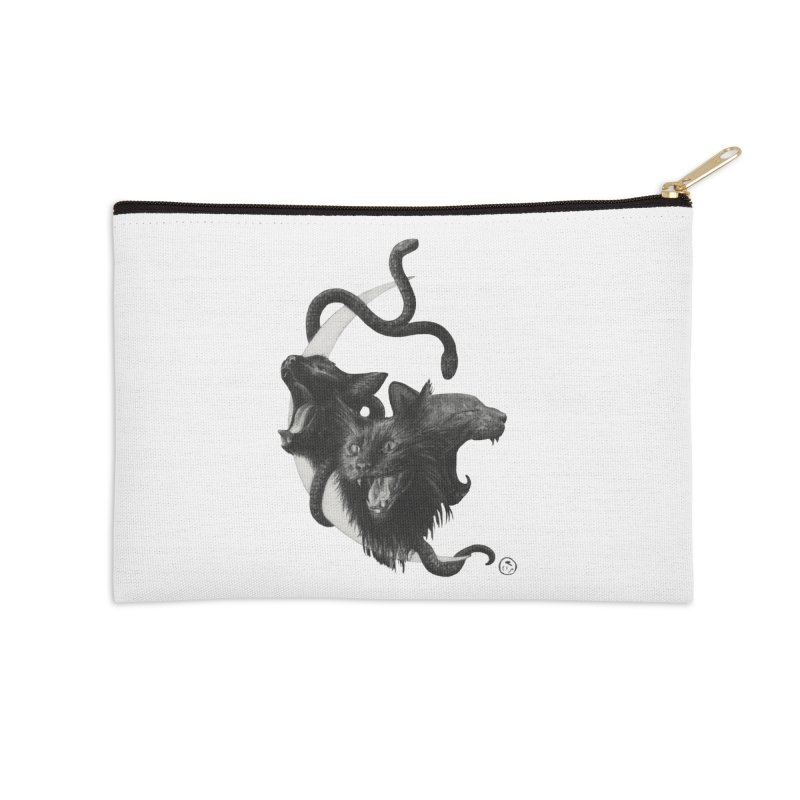 Harpies Accessories Zip Pouch by Stephanie Inagaki
