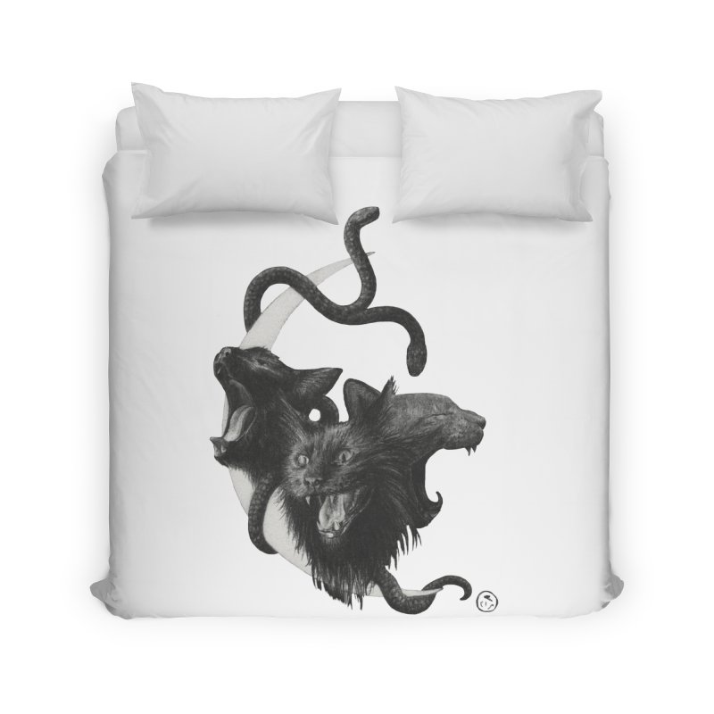 Harpies Home Duvet by Stephanie Inagaki