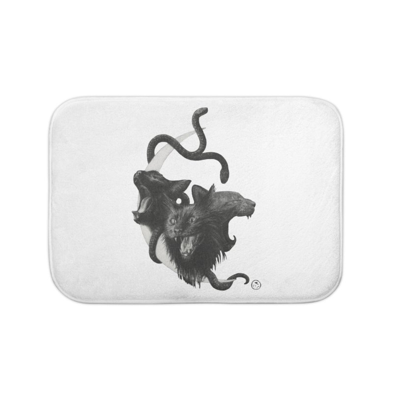 Harpies Home Bath Mat by stephanieinagaki's Artist Shop