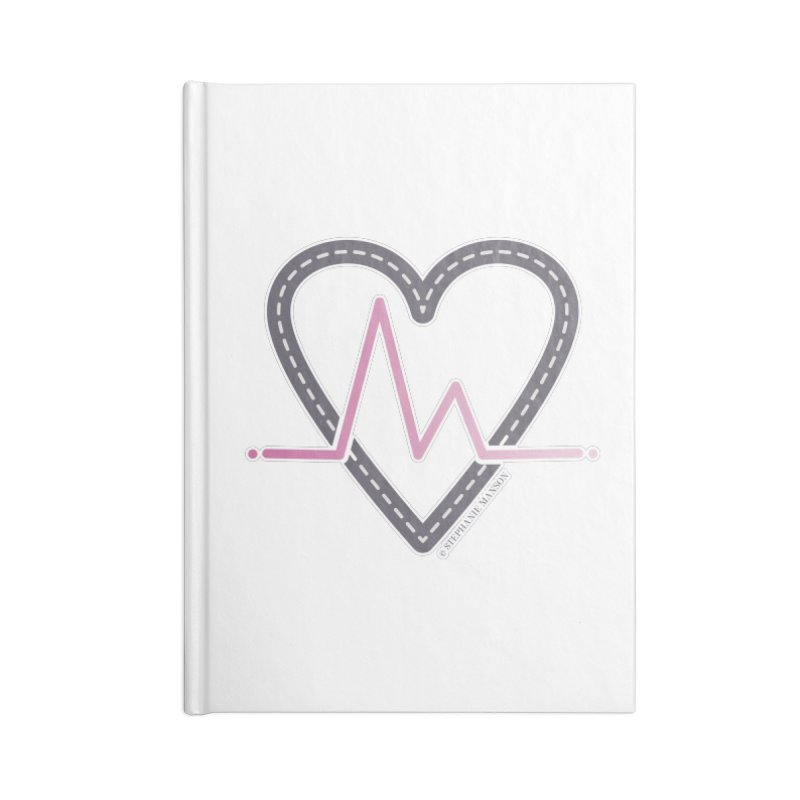 Heartbeat Accessories Notebook by Shop Stephanie Manson Design