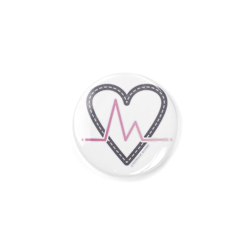Heartbeat Accessories Button by Shop Stephanie Manson Design