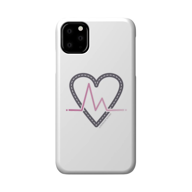 Heartbeat Accessories Phone Case by Shop Stephanie Manson Design