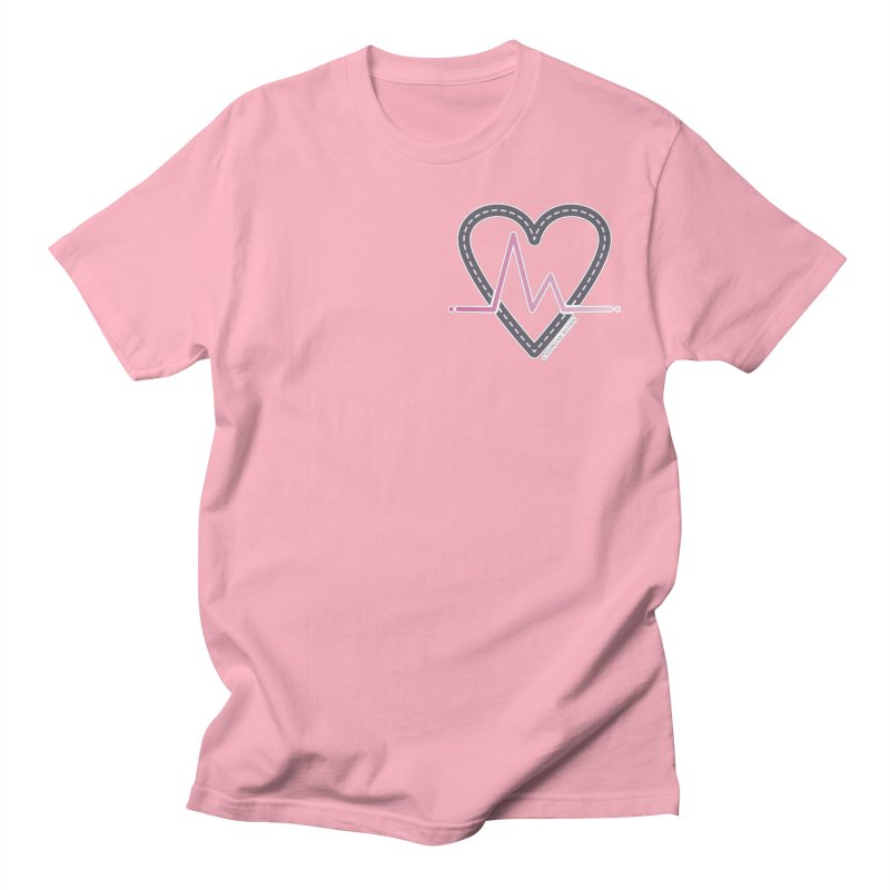 Heartbeat Men's T-Shirt by Shop Stephanie Manson Design