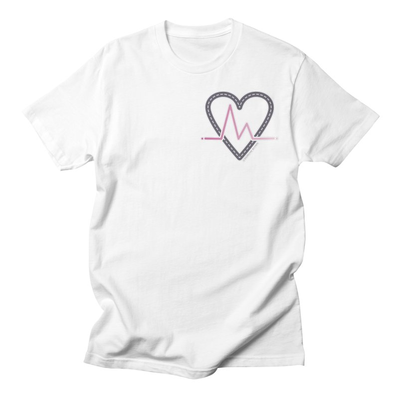 Heartbeat Men's T-Shirt by Shop Stephanie Manson Design