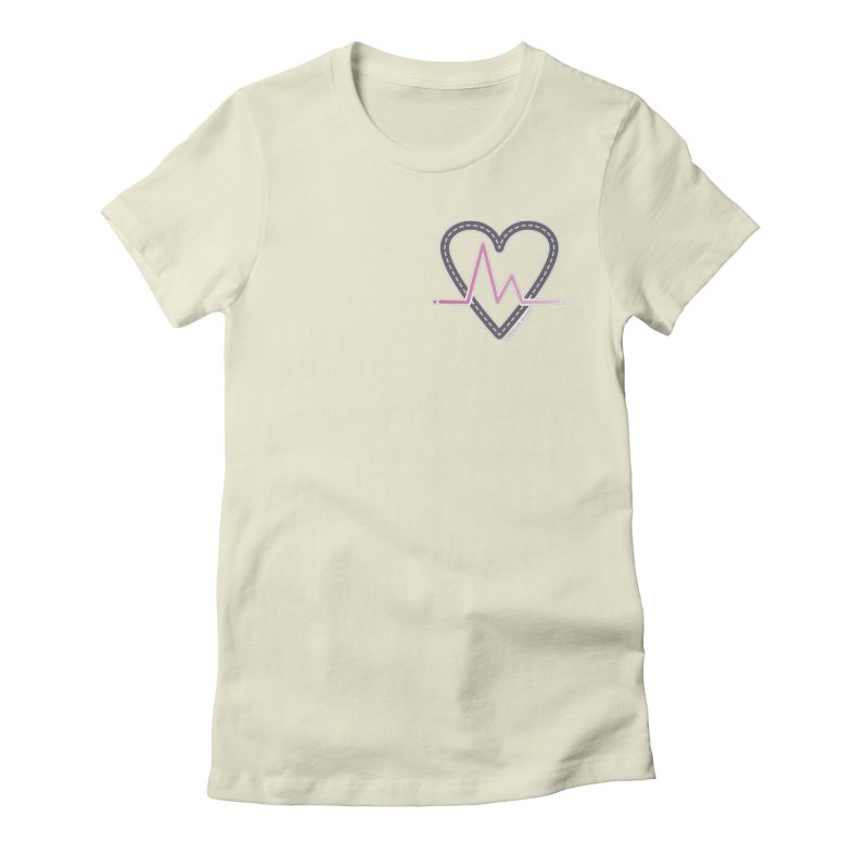 Heartbeat Women's T-Shirt by Shop Stephanie Manson Design