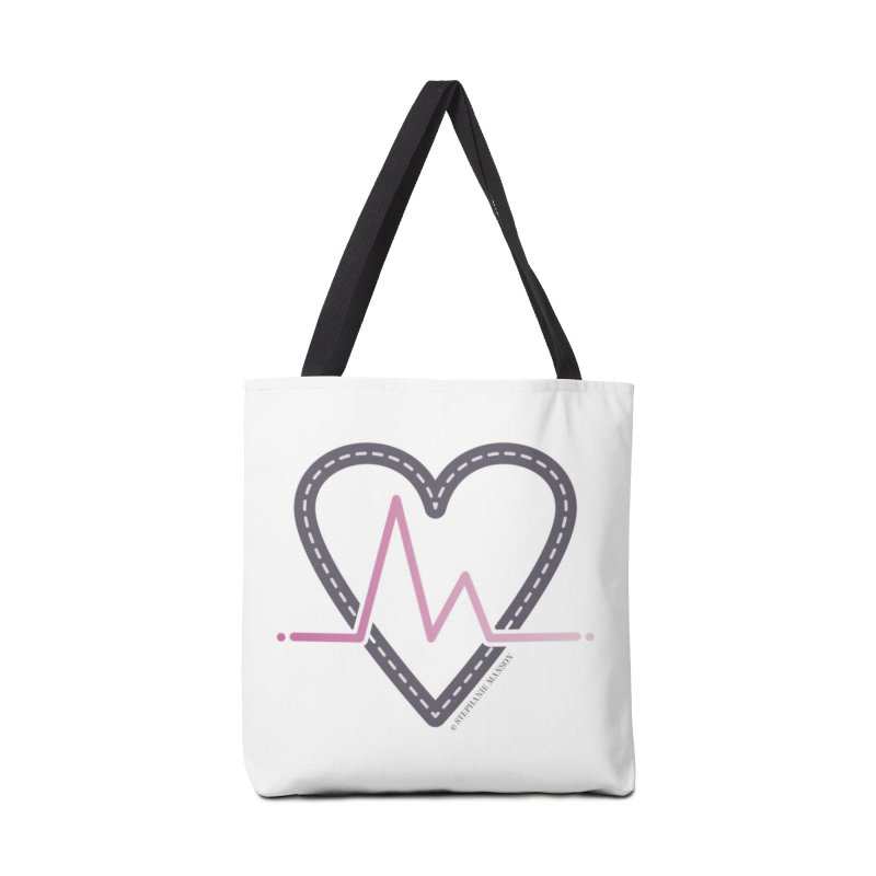 Heartbeat Accessories Bag by Shop Stephanie Manson Design