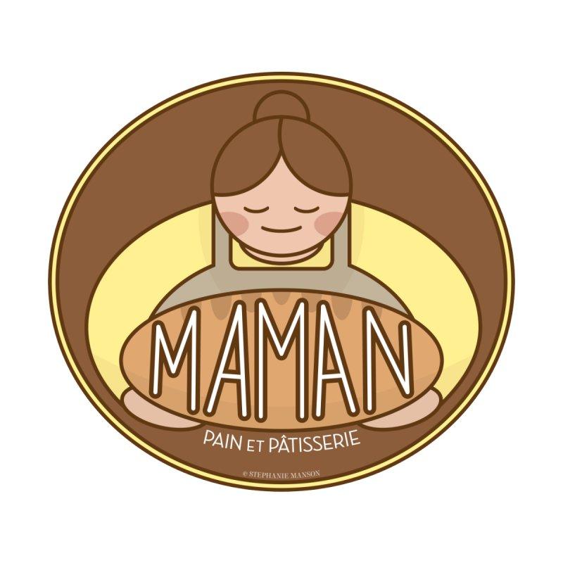Maman Pain et Pâtisserie Badge Accessories Phone Case by Shop Stephanie Manson Design