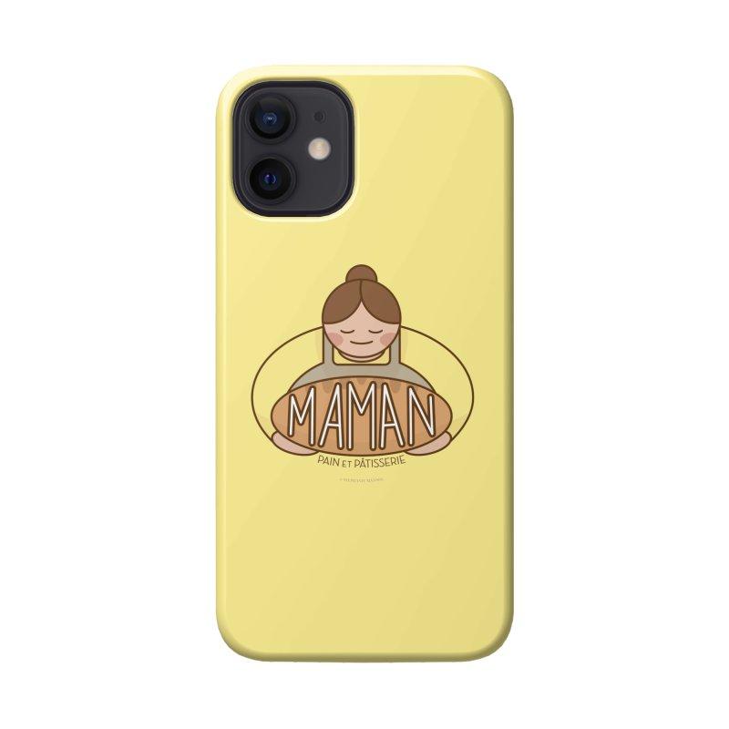 Maman Pain et Pâtisserie Logo Accessories Phone Case by Shop Stephanie Manson Design