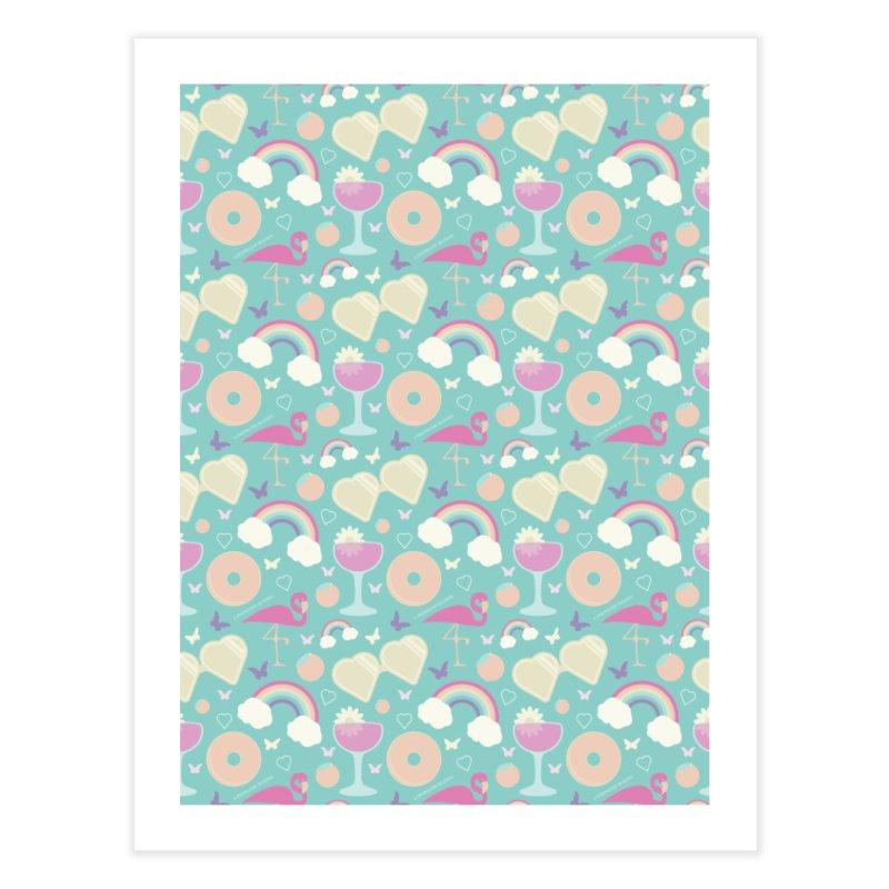 Summery Calm Pattern Home Fine Art Print by Shop Stephanie Manson Design