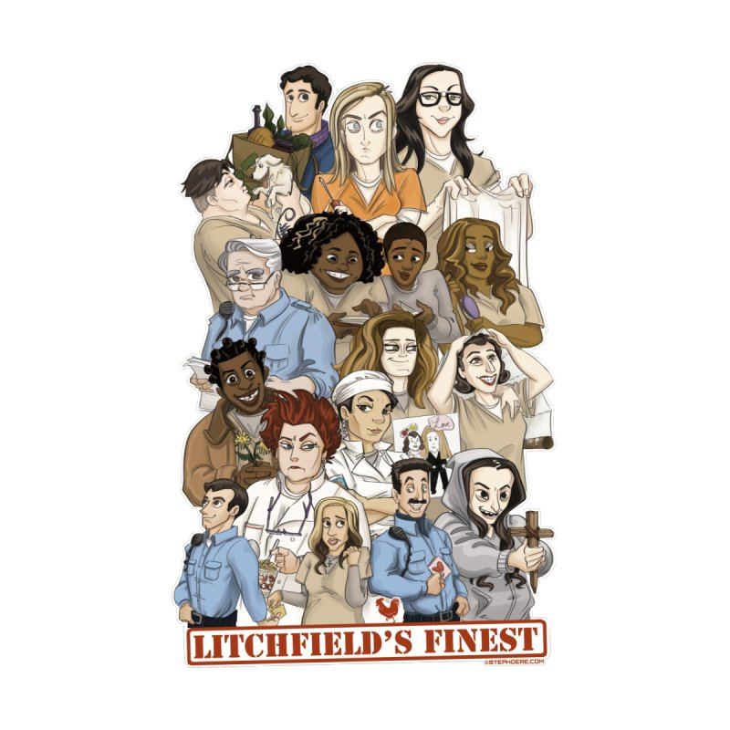 Litchfield's Finest Tee Men's T-Shirt by Steph Dere's Artist Shop