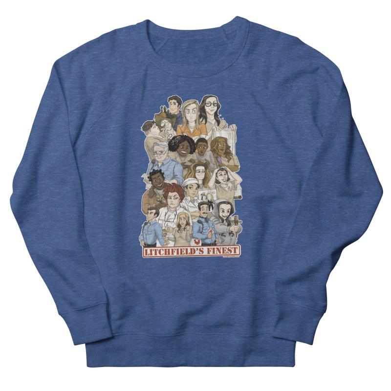 Litchfield's Finest Tee Women's Sweatshirt by Steph Dere's Artist Shop