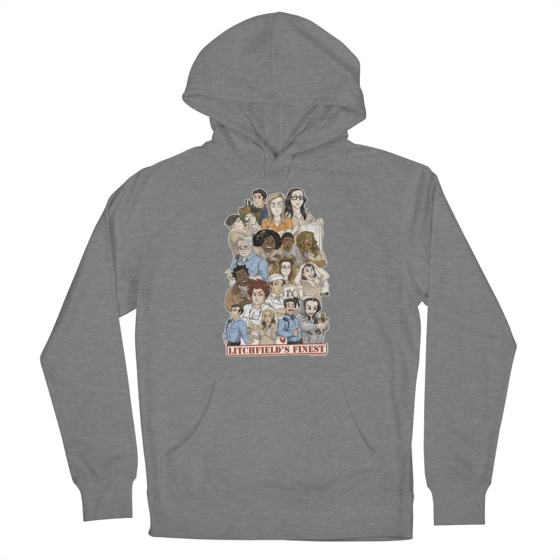 Litchfield's Finest Tee Women's Pullover Hoody by Steph Dere's Artist Shop