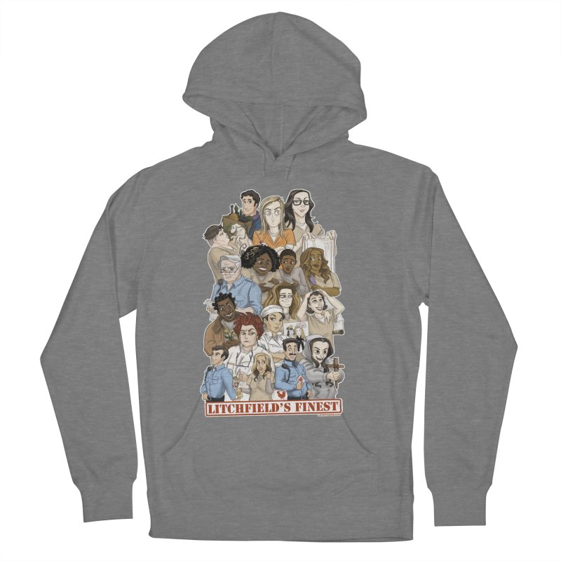 Litchfield's Finest Tee Women's French Terry Pullover Hoody by Steph Dere's Artist Shop