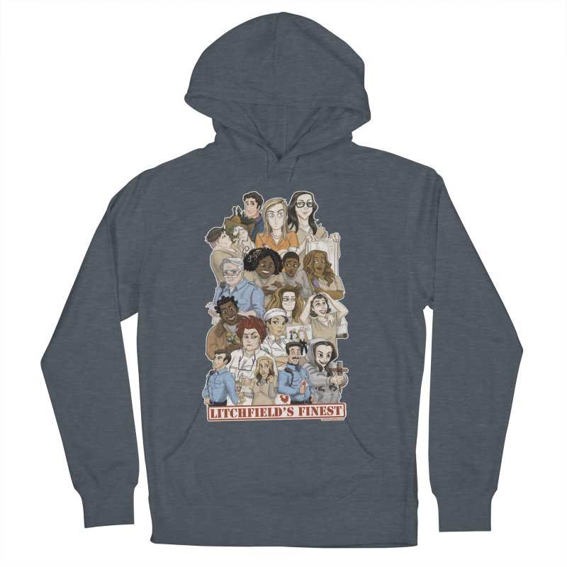 Litchfield's Finest Tee Men's French Terry Pullover Hoody by Steph Dere's Artist Shop