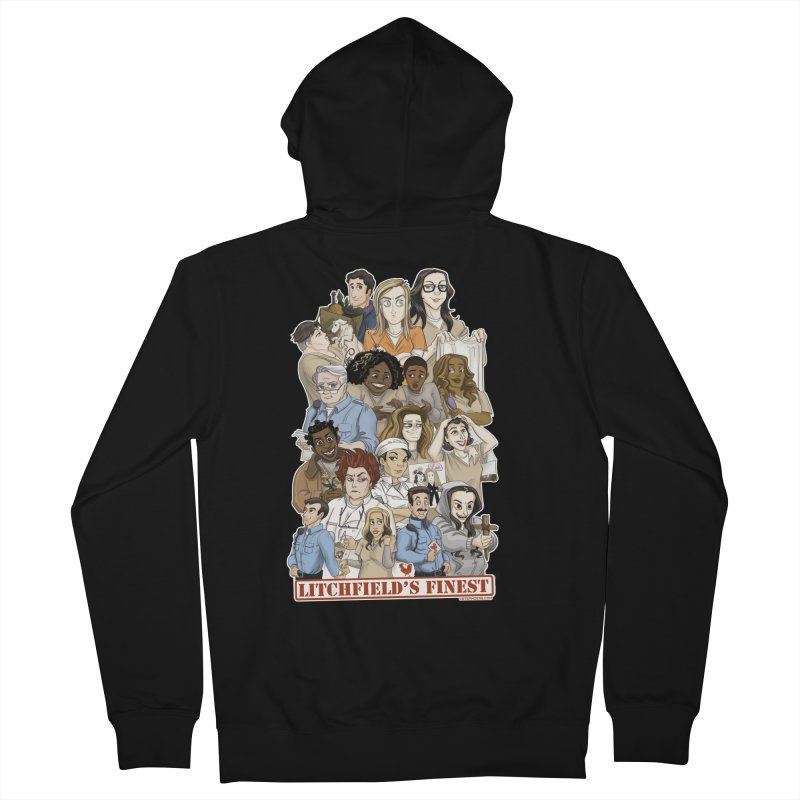 Litchfield's Finest Tee Women's French Terry Zip-Up Hoody by Steph Dere's Artist Shop