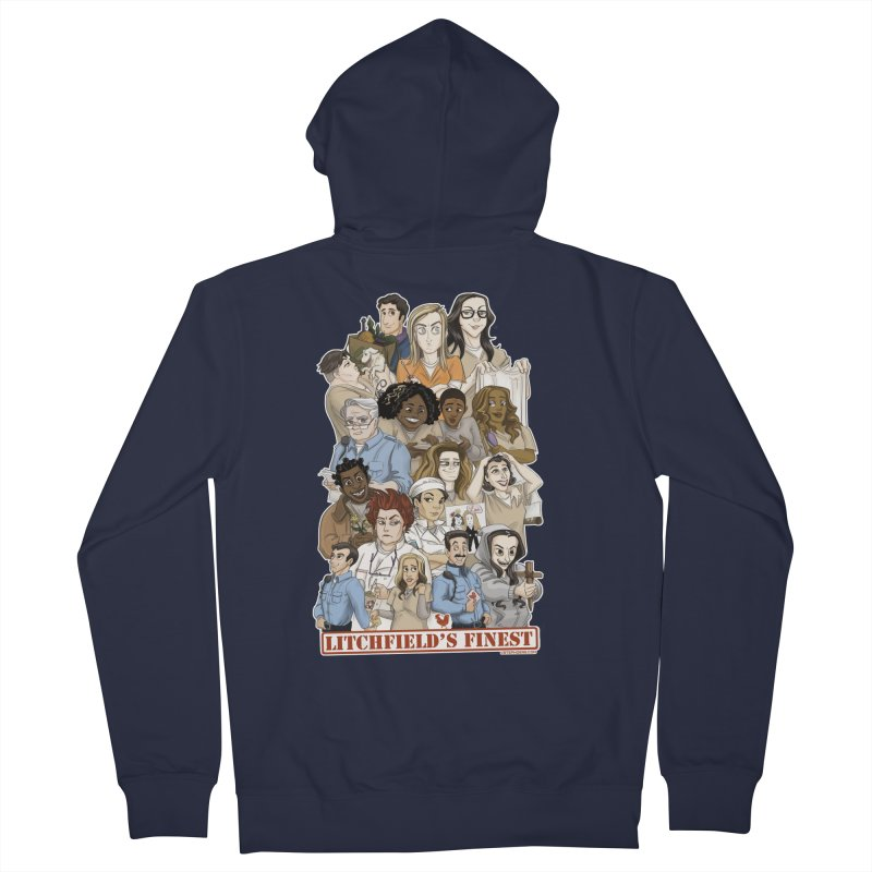 Litchfield's Finest Tee Women's Zip-Up Hoody by Steph Dere's Artist Shop