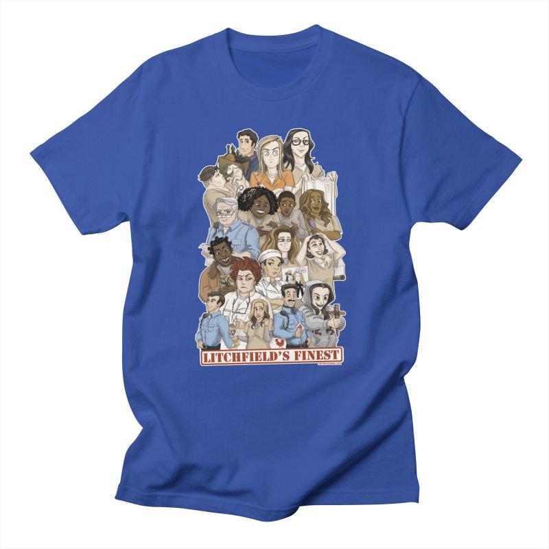 Litchfield's Finest Tee Men's T-Shirt by Steph Dere's Artist Shop