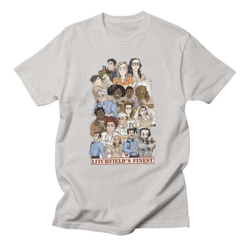 Litchfield's Finest Tee Men's Regular T-Shirt by stephdere's Artist Shop