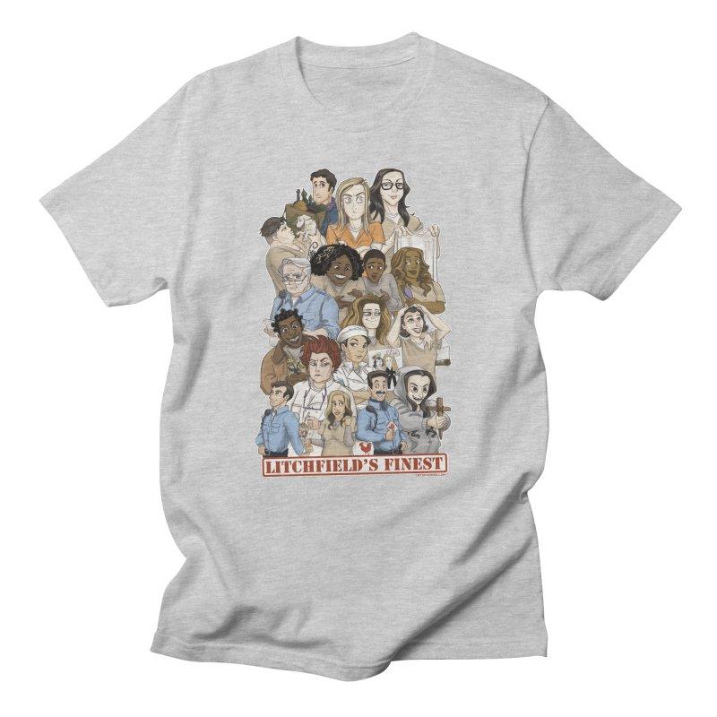 Litchfield's Finest Tee Men's Regular T-Shirt by Steph Dere's Artist Shop