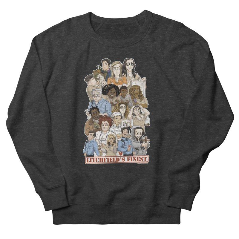 Litchfield's Finest Tee Women's French Terry Sweatshirt by stephdere's Artist Shop