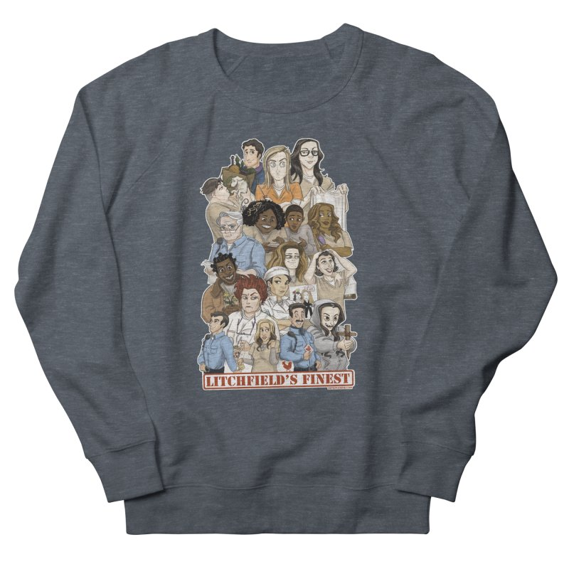 Litchfield's Finest Tee Women's French Terry Sweatshirt by Steph Dere's Artist Shop