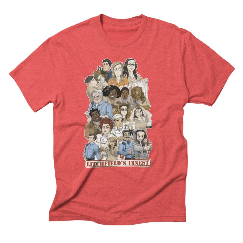 Litchfield's Finest Tee Men's Triblend T-Shirt by Steph Dere's Artist Shop