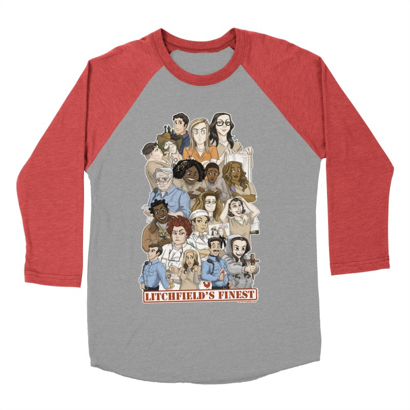 Litchfield's Finest Tee Women's Baseball Triblend Longsleeve T-Shirt by Steph Dere's Artist Shop