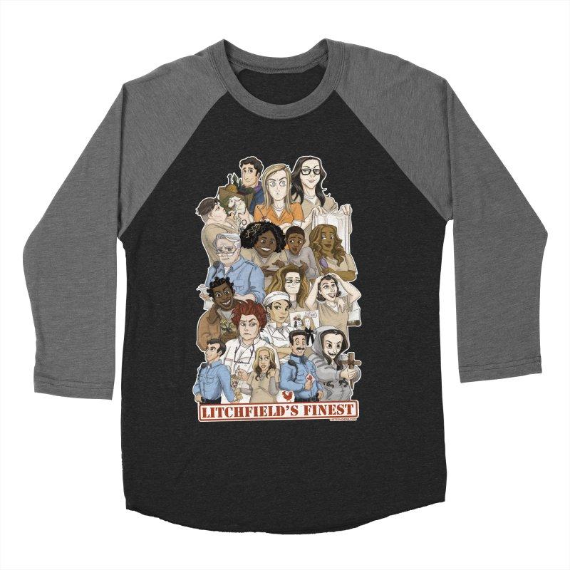 Litchfield's Finest Tee Women's Baseball Triblend Longsleeve T-Shirt by Steph Dere's Artist Shop