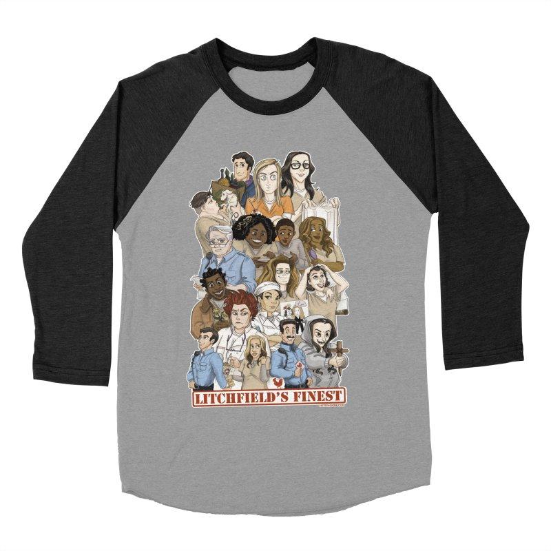Litchfield's Finest Tee Men's Baseball Triblend Longsleeve T-Shirt by Steph Dere's Artist Shop