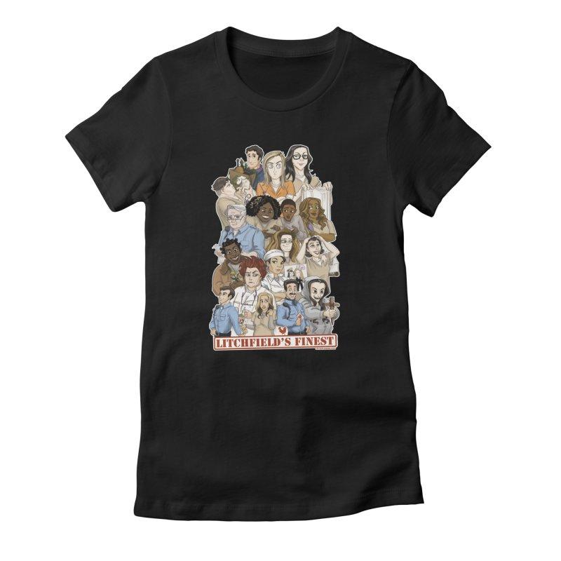 Litchfield's Finest Tee Women's T-Shirt by Steph Dere's Artist Shop